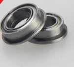 Metric chrome steel stainless steel flange bearing MF137ZZ 7X13X4mm abec-1 to abec-7 C0 radial clearance