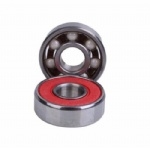 608-RS Rubber Coated White Ball Hybrid Ceramic  Ball Bearing